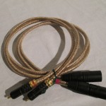 ISODA electric RCA-XLR line cable 0.9m pair
