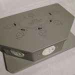 CSE ICX50A-AL isolated 5-output AC electric sockets