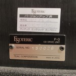 ESOTERIC P-0 VUK (ver. up) CD tranport system
