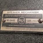 RCA MI9449 15inch LF tranceducer (1 peace)