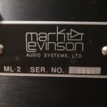 Mark Levinson ML-2L monoral power amplifiers (pair)