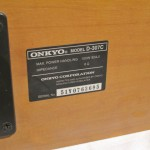 ONKYO D-307C 2way center speaker