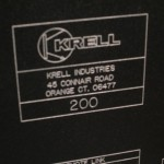 KRELL FPB-200 class-A stereo power amplifier