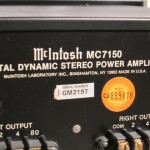 McIntosh MC7150 stereo power amplifier