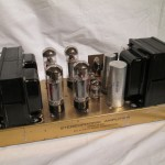 PILOT model SA260 tube stereo power amplifier
