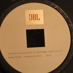 JBL LE15H LF transducers (pair)