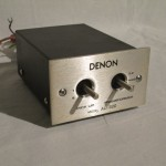 DENON AU-320 MC step-up transformer
