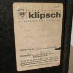 Klipsch HeresyⅡ 3way speaker systems (pair)