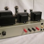 Hand-made 6L6GC-single tube streo power amplifier