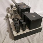 hand-made 211/VT4C shingle stereo power amplifier