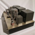 Hand-made 300B single tube stereo power amplifier