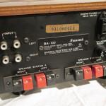 SANSUI BA-100 stereo power amplifier