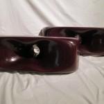 SONY SUP-H11 wood horns (pair)