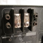 JEFF ROWLAND model3 monoral power amplifiers (pair)