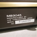 LUXMAN MB3045(6550/KT88) tube monoral power amplifiers (pair)