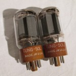 Tung-Sol JAN-CTL 6L6WGB power pentode tubes (pair)