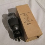 RCA 6L6G/VT115A power pentode tube