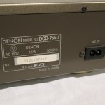 DENON DCD-755Ⅱ CD player