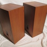KEF model203 2way speaker systems (pair)