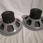 RCA MI-9449 15inch LF transducers (pair)