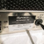 Dynaco stereo-70 tube stereo power amplifier