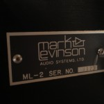 Mark Levinson ML-2 monaural power amplifiers (pair)
