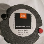 JBL 2405 HF transducer (1pc)