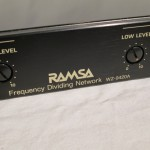 RAMSA WZ-9420 2way frequency deviding network