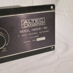 ALTEC N8500-8A 2way dividing network (pair)