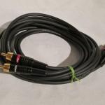 LINN BIC/UB + ELKA RCA line cables 2.5m pair