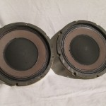 Electro Voice PRO-8A coaxial 2way transducers (pair)