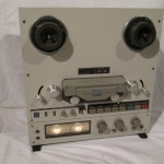 TEAC X-10R 4-tracks tape recorder