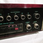 McIntosh C34V stereo preamplifier (rosewood WC included)