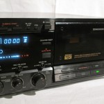 A&D GX-W4500 stereo tape recorder (2drive)