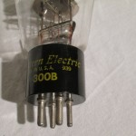Western Electric 300B('50s) triode power tubes (pair)