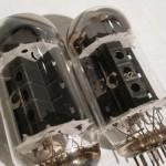 NEC 50CA10(black plate) power triode tubes (2pcs)