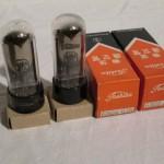Toshiba 6AU4-GTA harf-wave hi-vacuum rectifier (NIB/2pcs)