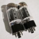 General Electric 6CA7/EL34 pentode power tubes (used/2pcs)