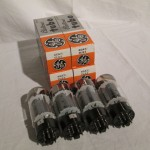 General Electric 6CA7/EL34 power pentode tubes (4pcs)