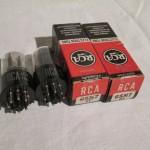 RCA 6SN7 medium-mu twin triode (used・pair)