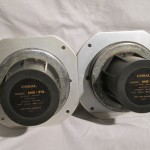 CORAL MD-70 mid-frequency transducers (pair)