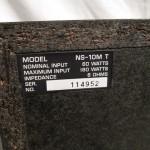 YAMAHA NS-10M 2way speaker systems (pair)
