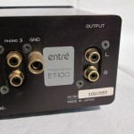 ENTRE ET-100(BK) MC step-up transformer