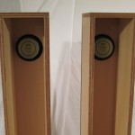 FOSTEX FE-103En + tall mount enclosures (pair)