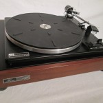 BSR P163 analog disc player