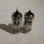 GE 12AU7A/ECC82 medium-mu twin triode (pair/NOS/NIB)