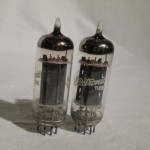 General Electric 12BH7A medium-mu twin triode NOS/NIB (pair)