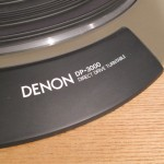 DENON DP-3000 + DK-100F + DA-305 analog disc player