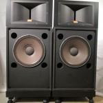 JBL 2441+2225H 2way speaker systems (pair)
