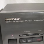 Pioneer RPD-500 CD recorder for professional use